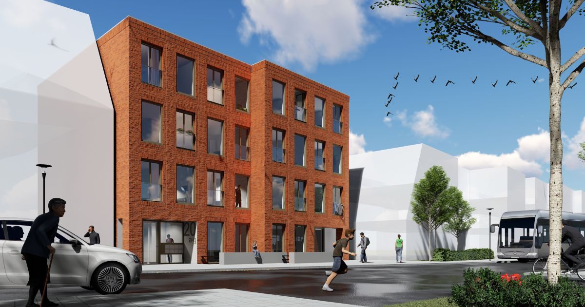 Plan raadhuisstraat roden woonborg for M2 trap berekenen
